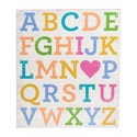 Wall Decor Alphabet 11-1/2 X 13-1/2 (12.50)