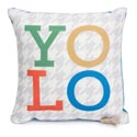 Pillow 8 X 8 Yolo (7.00)