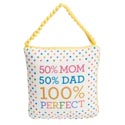 Pillow 5x5 50% Mom 50% Dad (5.00)