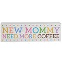Wall Decor New Mommy 2.5 X 6 Mdf (4.00)