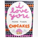 Wall Decor More Than Cupcakes 7.5 X 10 Mdf (9.00)