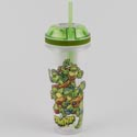 Combo Cups 16 Oz Drink/4 Oz Snack Tmnt (6.00)