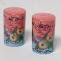 Salt And Pepper Shakes Ceramic Lejardin Set Of 2 (6.00) # Bc10268
