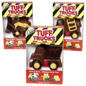 Candy Tuff Trucks Choc Flavor 2.5oz Boxed Decorated In Pdq