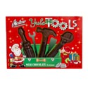 Candy Christmas Yule Tools Choc Flavor 2.25 Oz 3pc Boxed In Pdq