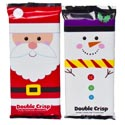 Candy Doublecrisp Bars 4.25 Oz 2 Assorted In Counter Display Santa/snowman