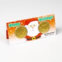 Candy Holiday Cash Card .46 Oz Milk Chocolate In Counter Dspl