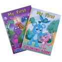Coloring Book My First 2asst Farm/wild Animals 96pg In Pdq Made In Usa