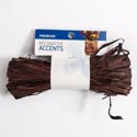 Raffia Bundle 25 Cu In Brown Decorative Accents Carded *2.99*