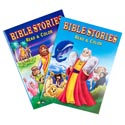 Bible Stories Read And Color 2 Asstd Easy Tear Out Pages In 24 Ct Pdq