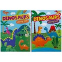 Coloring Book Dinosaurs 2 Asst In 24 Ct Pdq