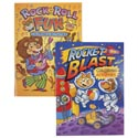 Coloring Book Rocket Blast And Rock & Roll Fun 96pg In Pdq 2 Assorted