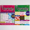 Book Variety Puzzle And Game 24pc Counter Display 96 Pg