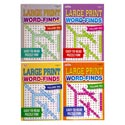 Word Find Book Lrg Print 112pg Asst In 120pc Floor Disp #842 96 Pg Made In Usa