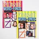 Word Find Book Celebrities 2asst 96pg In Pdq Ppd $3.95