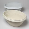 Planter 13 Inch Oval 3 Colors Marble/white/cream In Pdq