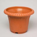Planter 17.5 Round X 13h Green, Terra Cotta #hg3011 No Holes