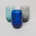 Wine Glass Stemless 15 Oz Assorted Colors # Cr-0454trans