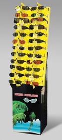 Sunglasses Designer 60 Asst Ppd $9.99 In Floor Dsply