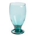 Water Goblet 12 Oz Smoke Green Glass # Cr-0506ax12sg