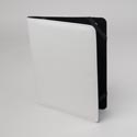 Tablet Stand Deluxe White Protective Folio Case Elastic Strap Closure