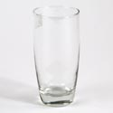 Drinkware Cooler Glass 16.25 Oz Capri Clear