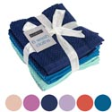 Wash Cloths 6pk 12 X 12 Assorted Colors - See N2 # Wc533-6pk
