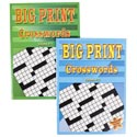 Crossword Puzzles Big Print 2 Assorted In Pdq