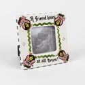 Photo Frame 6x6 Ceramic 4x4 Opening A Friend Loves (6.50)