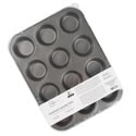 Cupcake Pan 12 Cup W/lid Non-stick Mainstays *12.49*