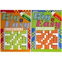 Crosswords Big & Easy 96pg 2asst In Floor Display Ppd $3.95