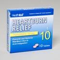 Heartburn Relief 10 Tablets Famotidine 10 Mg Boxed Compare To Pepcid Ac