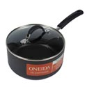 Sauce Pan 3qt Covered Hard Anodized Aluminum Non-stk*26.99* Oneida
