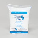 Foot Cleansing Wipes 25ct Menthol Clean Feet