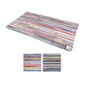 Scatter Rug 24x45 Multi-color Reversible Woven Made In Usa