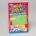 Word Find Movie Lovers In Floor Display 2 Asst 128 Pgs B3644d Made In Usa