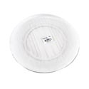 Dinner Plate 9in Glass Clear # 0386al