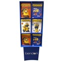 Color And Activity Minions Dsply 4asst 78pc Display See N2