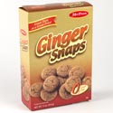 Cookies Boxed Ginger Snaps 11 Oz Mrs. Pures
