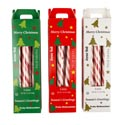 Candy Holiday Candy Cane Sticks 6ct Seasonal Carton 4.2 Oz In Counter Display