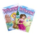 Coloring Book Princess Bilingual 96 Pgs In Pdq W/bonus Cut Out
