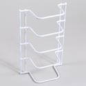 Organizer 4 Sort White Wire 3.50 X 6.8 X 10.3 *6.99*