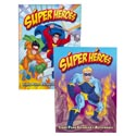 Color/activity Book Spanish Super Heros 96pg In 24pc Pdq 2 Assorted