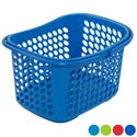 Basket With Folding Handles 4 Colors 289g In Pdq 11-1/2l X 9-3/8w X 7-3/4h