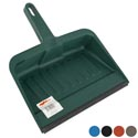 Dust Pan W/rubber Lip 12in Heavy Duty 6 Colors #dp007