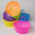 Basket W/handles 10.5in Dia 6 Colors #pooja Basket