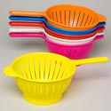 Colander W/long Handle 6 Colors #c004