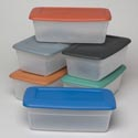Shoe Box 5.5 Qt Clear Bottom W/ 6 Clr Rcyld Lids 209g #sh001 13.5l X 7.75w X 4.75h