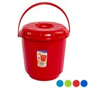 Bucket W/lid & Handle 2.9 Gal 10.5d X 11.5h - 4 Colors #eco 511