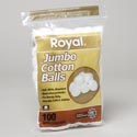Cotton Balls 100ct Jumbo #41470-48